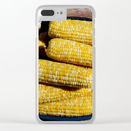 Sweet Corn Clear iPhone Case