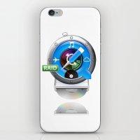 mac iPhone & iPod Skins featuring Super-Mac by AJ Calhoun