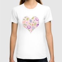 vegetarian T-shirts featuring vegetarian menu by Kristina Nuetzmann