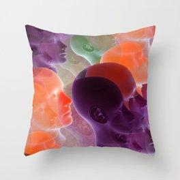 public viewing -a- Throw Pillow