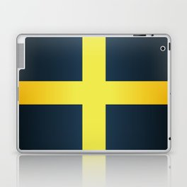Flag of Saint David Of Wales Laptop & iPad Skin