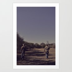 the hunters. Art Print