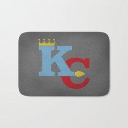 Kansas City Sports Red & Blue Bath Mat