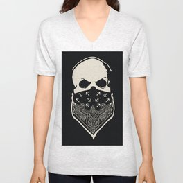 Cover your Mouth Unisex V-Neck