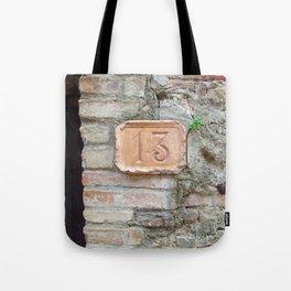 13 - Old World Door Tote Bag
