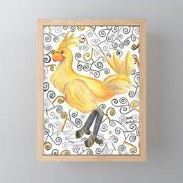 Chocobo Framed Mini Art Print