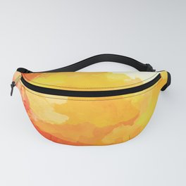 Colorful Abstract - red orange pattern Fanny Pack