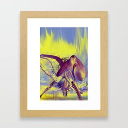 octupus3... Framed Art Print