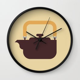 Japan Teapot Wall Clock