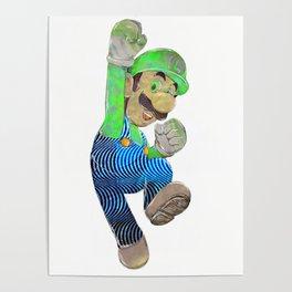 Pop Art Luigi Poster