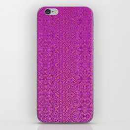 Magenta Tribal Pattern iPhone Skin