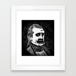 11. Zombie James K. Polk  Framed Art Print