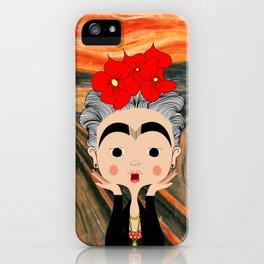 O Grito da Frida iPhone Case