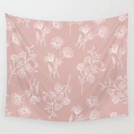Daisy & Sweet Pea Wall Tapestry