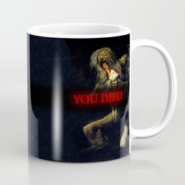 You Died Dark Soul Coffee Mug