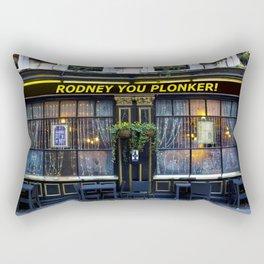 Rodney's pub Rectangular Pillow