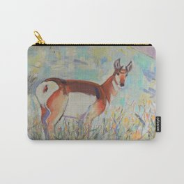 Pronghorn in Yellowstone Carry-All Pouch