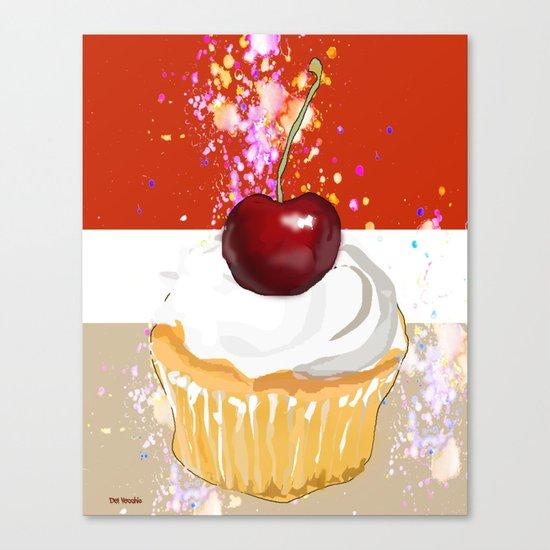 Cupcake-2 Canvas Print