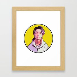 iKON Rainbow - Bobby Framed Art Print