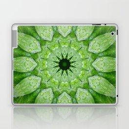 Green Mandala Plant Laptop & iPad Skin