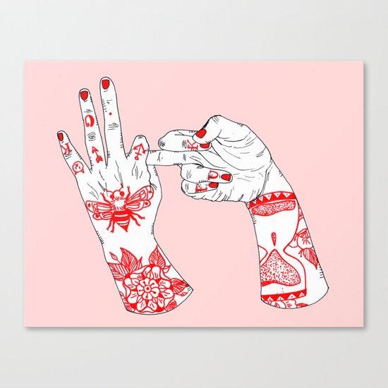 F*ck'n OK Canvas Print