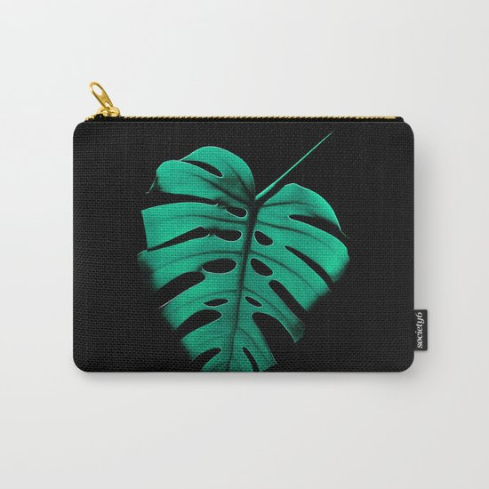 Monstera Portrait Carry-All Pouch
