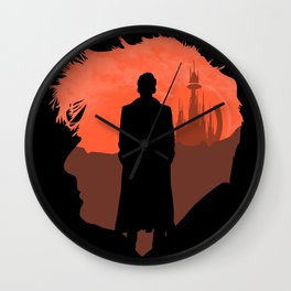 10th Doctor's world Wall Clock