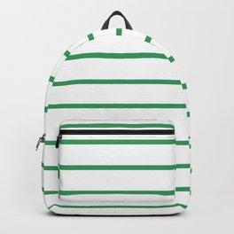 Kelly Green Breton Stripes Backpack
