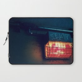 Tunnel Light - Retro Laptop Sleeve