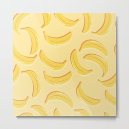 Banana pattern 02 Metal Print