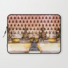 Wat Si Saket Buddhas IV, Vientiane, Laos Laptop Sleeve