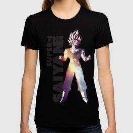 Super Saiyan Goku Art Decal T-shirt