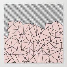 Ab Lines 45 Dogwood Canvas Print