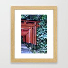 Inari Gates Galore Framed Art Print