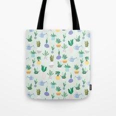 Plant pot Pattern Tote Bag