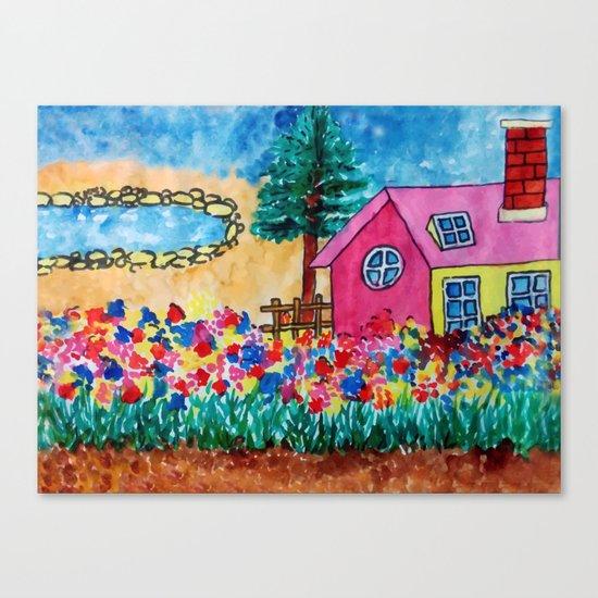 Magical Home Canvas Print