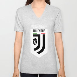 Slogan Juventus Unisex V-Neck