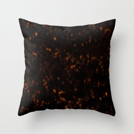 Dark Tortoise Shell Pattern Throw Pillow