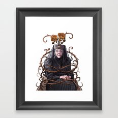 Queen of Thorns Framed Art Print