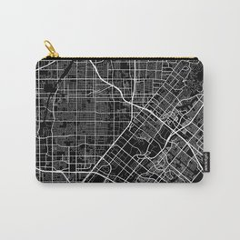 santa ana map california Carry-All Pouch