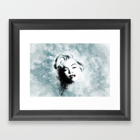 Ohh Marilyn! Framed Art Print