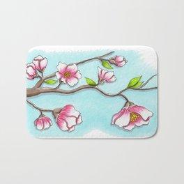 Almond Tree Bath Mat