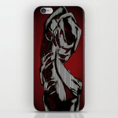 Scratch My Back I'll Scratch Yours (bright red and blk) iPhone & iPod Skin