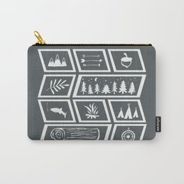 Camping [Reversed] Carry-All Pouch