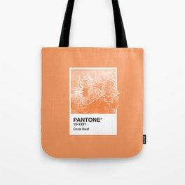 Pantone Series – Coral Reef Tote Bag