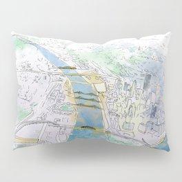 Pittsburgh Aerial Pillow Sham