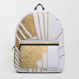 Art Deco design - blonde Backpack