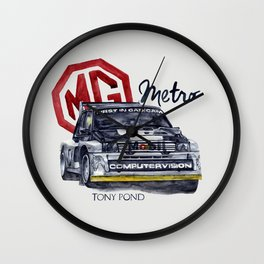 Legend of GROUP B: MG METRO Wall Clock