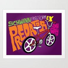 All My Bikes: 6, Schwinn Predator Art Print