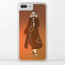 Obito Uchiha Clear iPhone Case